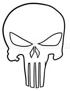 punisher skull art coloring pages in elegant skull