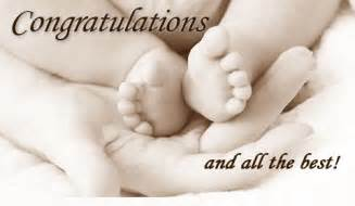 congratulations new baby let s celebrate