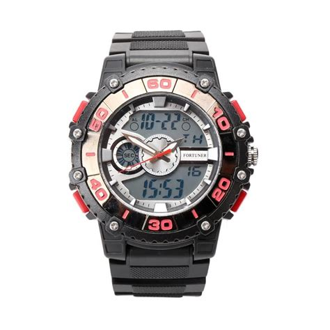 Jam Tangan Fortuner J877 Ad Diskon jual fortuner fr j913 ad hitam jam tangan pria
