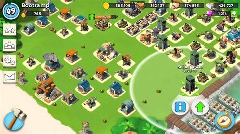 layout boom beach boom beach medal base speedbuild defense layout youtube