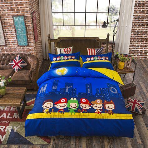super mario bros bedding full canada popular mario bedding buy cheap mario bedding lots from china mario bedding