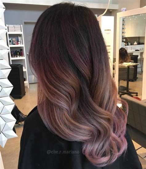 how to get ombre hair balayage american tailoring 20 gorgeous exles of rose gold balayage