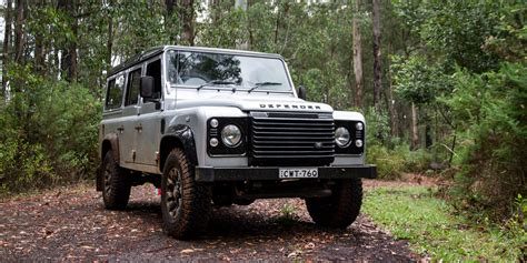 land rover defender 110 2015 land rover defender 110 review caradvice