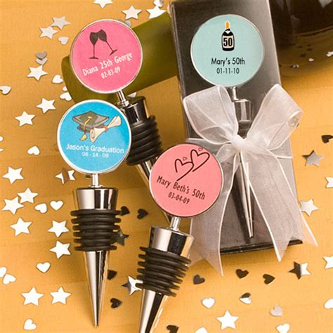 50th Birthday Giveaways - 50th birthday bottle stopper favor favors for 50th birthday
