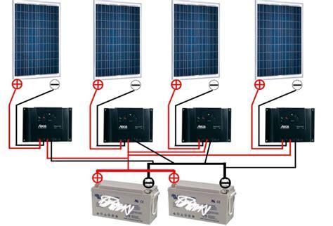 Regulateur De Charge Panneau Solaire 1148 by Sh 233 Ma De Montage Panneau Solaire R 233 Gulateur De Charge Etc