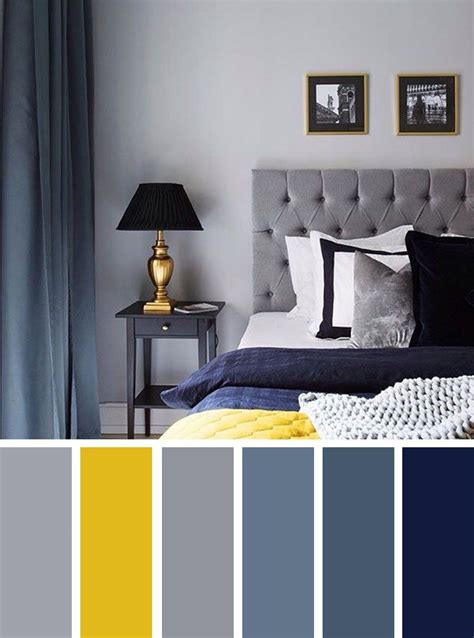 home decorating ideas bedroom gray and yellow bedroom