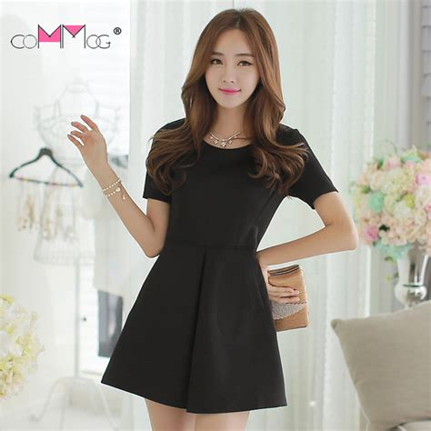 Murah Donela Mini Dress baju mini dress korea musim panas gugur shopashop