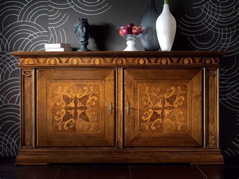 venier mobili madia in legno con ante a battente con cassetti ca venier
