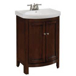 Vanity For Bathroom Lowes Allen Roth Moravia Midnight Cherry Bath Vanity With Sink