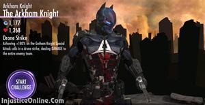 Injustice gods among us mobile the arkham knight challenge screenshot