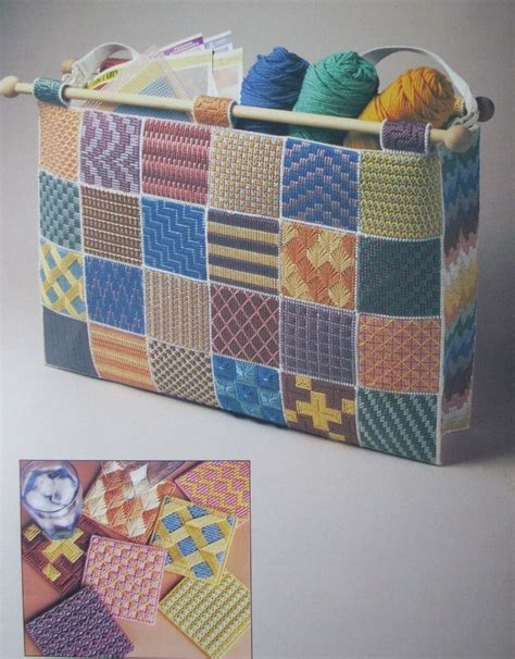 pattern for tote bag made from plastic bags sample stitches tote bag plastic canvas pattern book