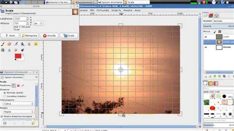 creare cornice foto creare cornice e inserire immagine con gimp