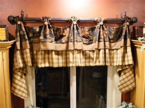 Country Style Kitchen Curtains by Kitchen Valance Country Design