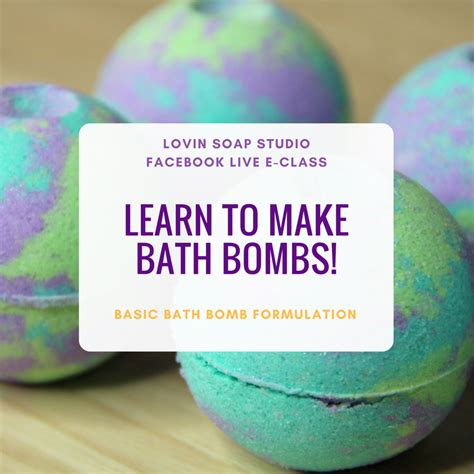 marvelous bombs 25 awesome bombs recipes books learn to make bath bombs live eclass july 1 at