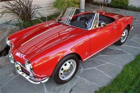 Alfa Romeo 1960 by 1960 Alfa Romeo Spider Information And Photos Momentcar