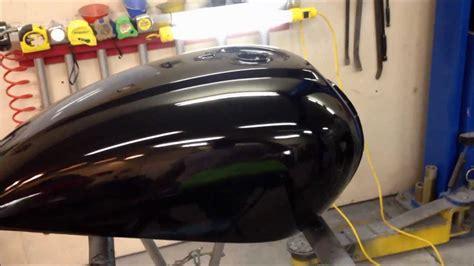 finishing  paint job  motorcycle  gas tank   ugg