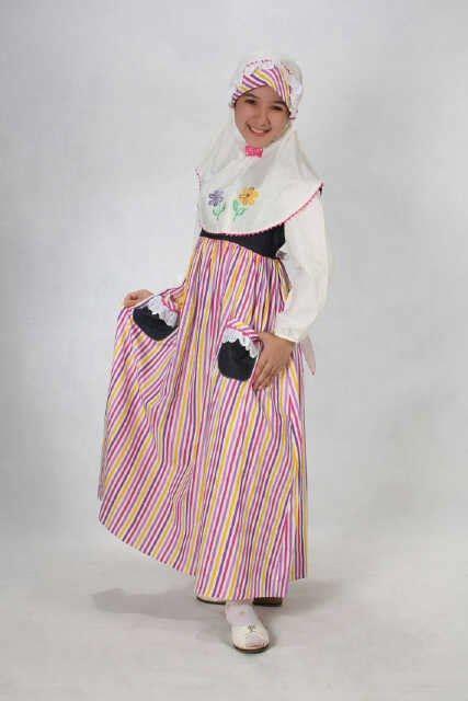 Baju Muslim Aini Ungu aini 130201 ungu baju muslim gamis modern