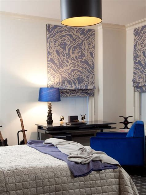 cobalt blue bedroom boy s bedroom with cobalt blue chair paired with glossy