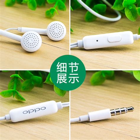 Original Headset Earphone Oppo R9 oppo headset genuine original oppo mh133 r9s r11 a57 r7 r9