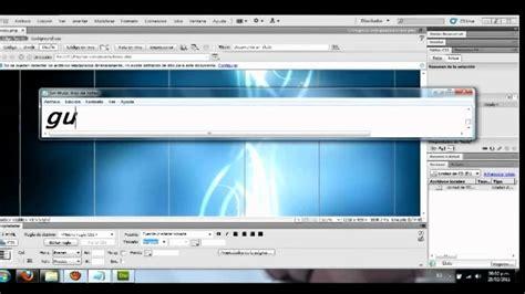 tutorial dreamweaver pagina web tutorial fondo estatico para paginas web dreamweaver css