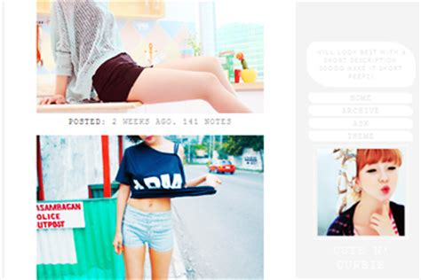 themes tumblr free kawaii cute n curbie tumblr