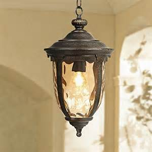 outdoor swag lights bellagio collection 18 quot high outdoor hanging light