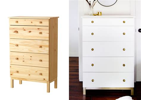 ikea dresser hack 5 incredible makeovers ikea hack painted furniture diy s