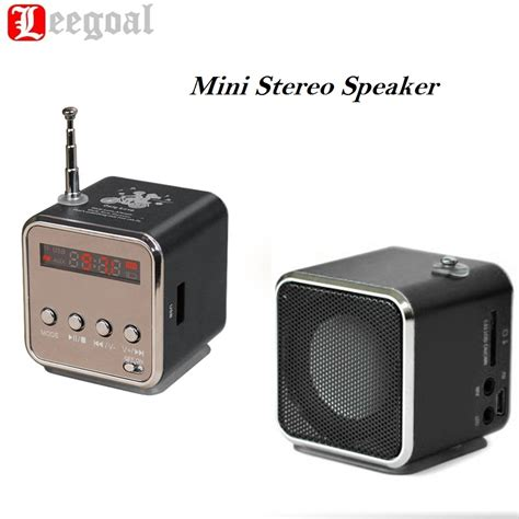 Speaker Mini Bass Micro Sd Usb Fm Radio Z 12 Td V26 Mini Usb Micro Sd Tf Speaker Player Portable Fm Radio Stereo Bass Speaker