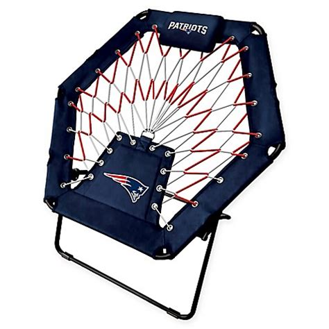 patriots chair nfl new patriots premium bungee chair bed bath