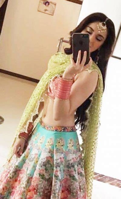 Hania Set hania aamir on the set of upcoming na maloom afrad 2 wearing beautiful lehnga