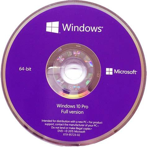 Cd Microsoft Original microsoft fqc 08298 windows 10 profession 64 bit microsoft flipkart