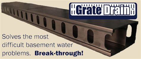 midwest basement tech midwest basement tech when you need a grate drain system