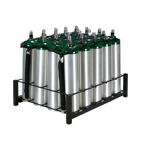 Hydraulic Cylinder Storage Rack by Responsive Respiratory