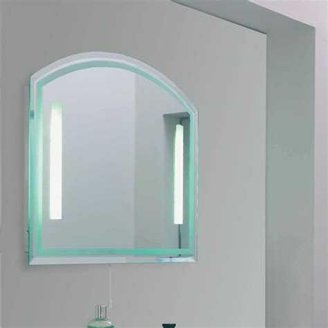 endon el nordic enluce ip44 2 light bathroom mirror
