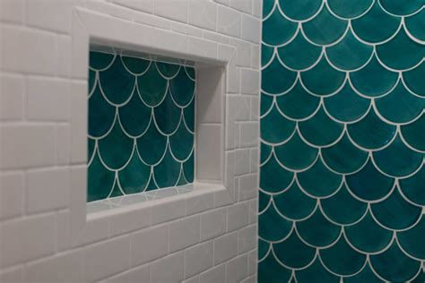 tiles with style fish moroccan fish scale tile bathroom trends construction2style