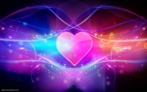 wallpaper love pink hd colorful abstract wallpaper with pink love heart hd