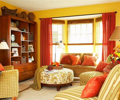 Spice Colored Curtains Decor Decorating With Orange 2013 Ideas Decorating Idea