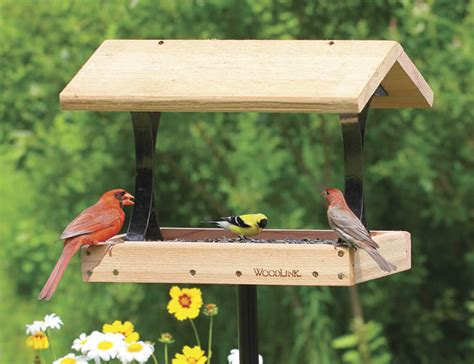 download platform bird feeder with roof plans plans free