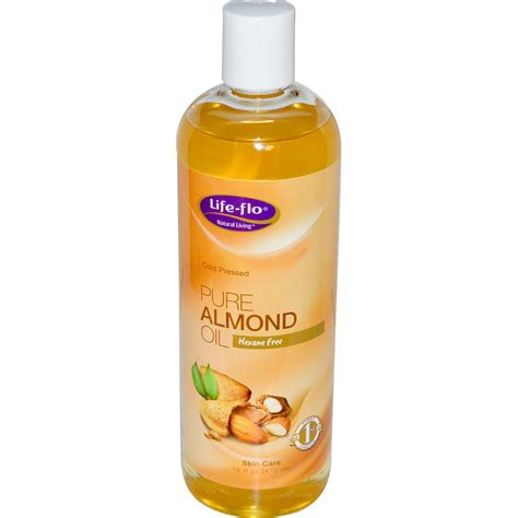 Almond With Skin flo health almond skin care 16 fl oz 473