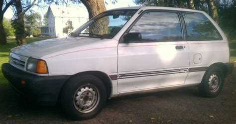 auto air conditioning service 1993 ford festiva transmission control find used 1988 ford festiva lx in mason michigan united states