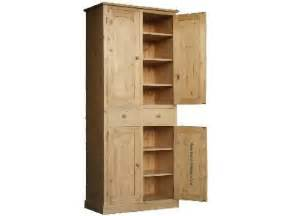 6 Foot Pantry Cabinet Solid Pine Cupboard 7ft X 3ft Handcrafted Larder Pantry