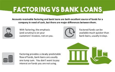 factoring bank invoice factoring alternative to traditional bank loan