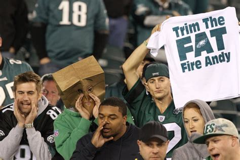 philadelphia eagles fan examining the relationship between the philadelphia
