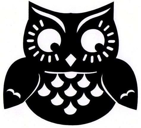 printable halloween owl cute owl silhouette scanncut pinterest halloween
