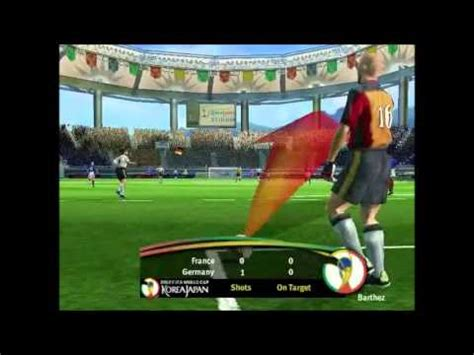 Osbourne Flashed At World Cup by Fifa World Cup 2002 Pc Gameplay