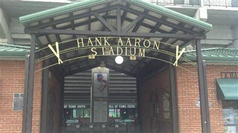 hank aaron stadium lights christmas lights hank aaron stadium mobile traveller