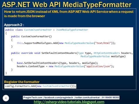 tutorial asp net web api sql server net and c video tutorial asp net web api