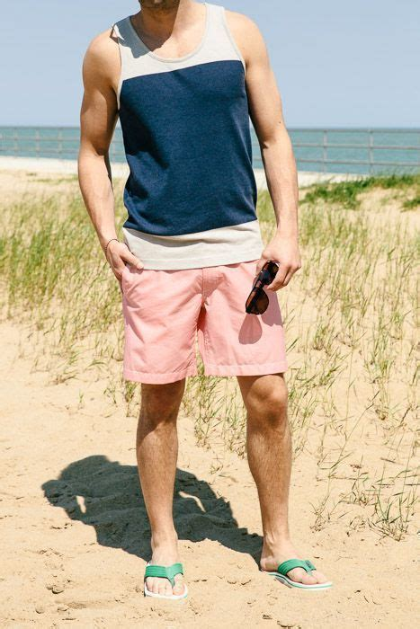 green tank and flipflops blue denim jean shorts 6 30 how to wear your tank top in 15 stylish ways thestyle city