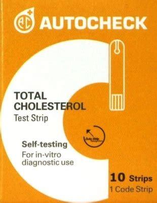 Tesk Cholesterol Autochek 10 autocheck cholesterol ekomed
