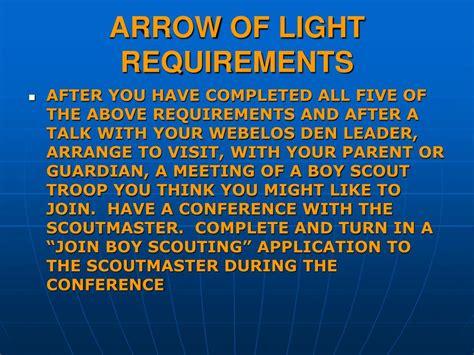 arrow of light requirements 2017 arrow of light requirements arrow of light k2bsa radio
